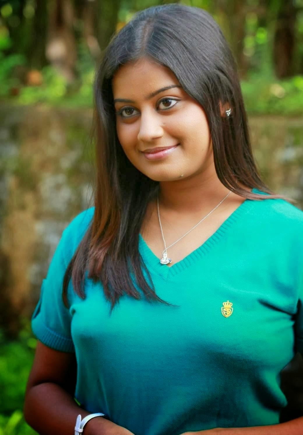 ansiba hassan hot photos in pavada blouse
