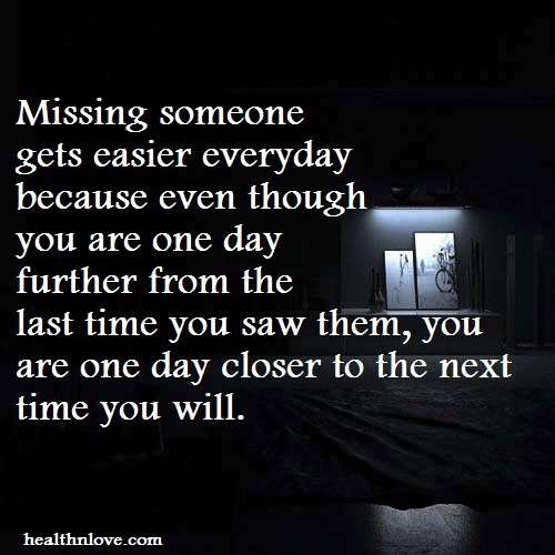 good quotes for missing someone