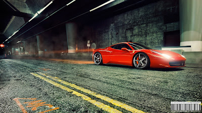 Ferrari 458 HD Wallpaper for iPhone