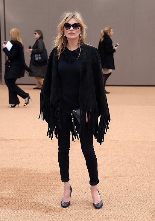 Kate Moss wearing The Gabardine Collection