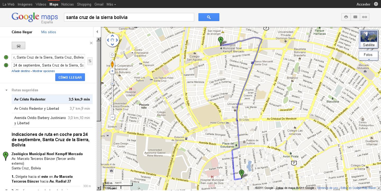 Eduardo f sandino mapa digital de la ciudad de santa for Donde queda santa cruz