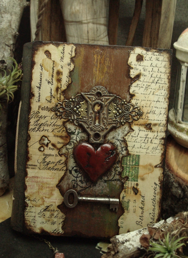 Book Cover Ideas We Heart It ~ Altered alchemy gallery handmade journals
