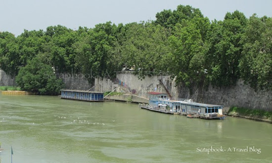 River Tiber Rome Italy