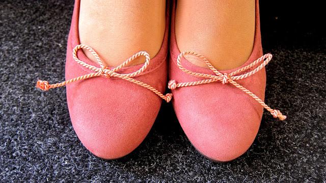 bailarinas con tacón color rosa palo modelo pretty