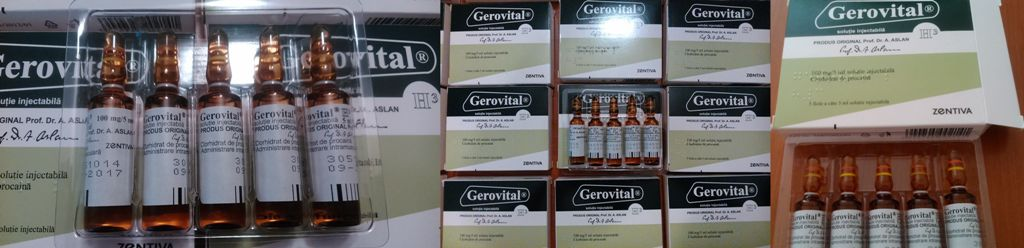 Buy Original Romanian Gerovital H3 Tablets and Injections by Dr Ana Aslan