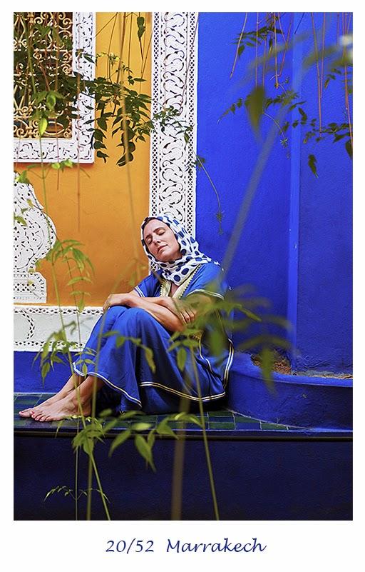 Fotografía de viajes Marrakech Jardín Majorelle