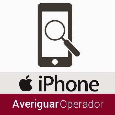 Comprobar operador de origen de mi iPhone