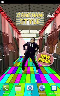 Live Wallpaper Gangnam style