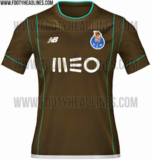 bocoran jersey Fc Porto away terbaru musim depan 2015/2016