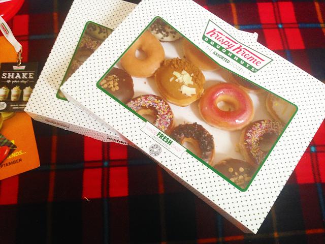 Krispy Kreme Boxes