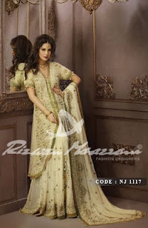 Pakistani Readymade Bridal Wear Dresses 2013-2014