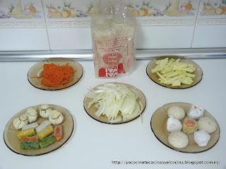 ingredientes aperitivos chinos