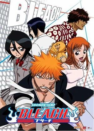 Bleach 2001 poster