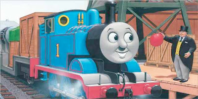 sample page from THOMAS AND THE JET ENGINE