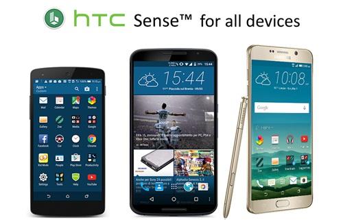 Launcher HTC Sense untuk semua Android