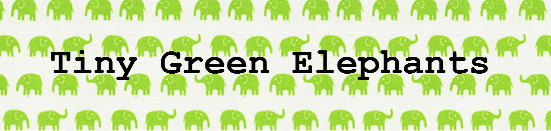 Tiny Green Elephants