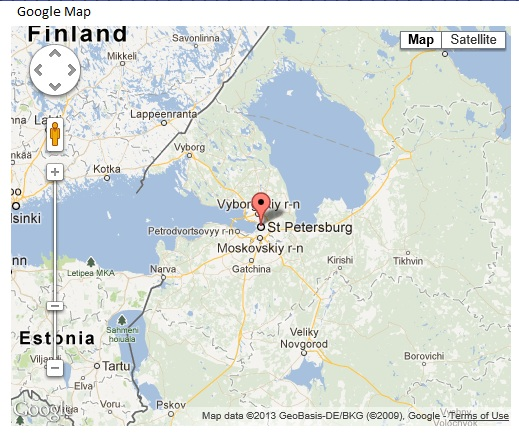 Pure SharePoint Blog Google map webpart using GeoLocation Field in