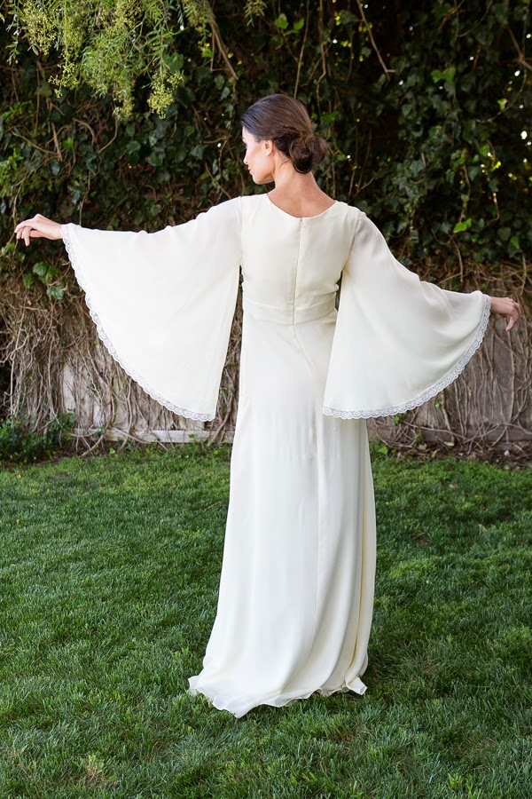 Celine Silk Chiffon Gown - Affordable Wedding Dresses: Ethereal