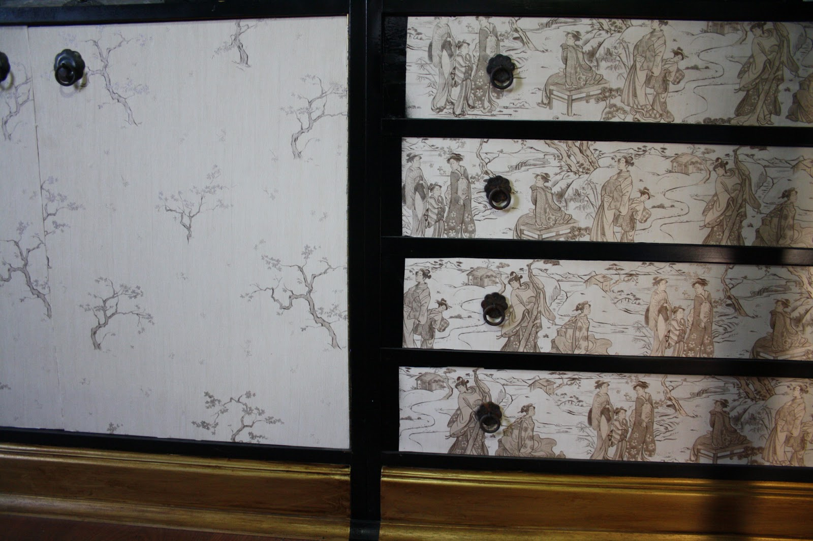 Boutique papel pintado enero 2013 - Empapelar muebles ...