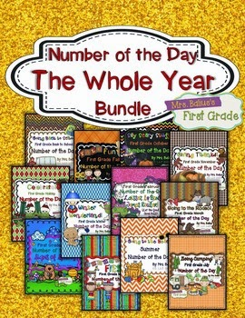 https://www.teacherspayteachers.com/Product/Number-of-the-Day-The-Whole-Year-First-Grade-Place-Value-Bundle-1084852