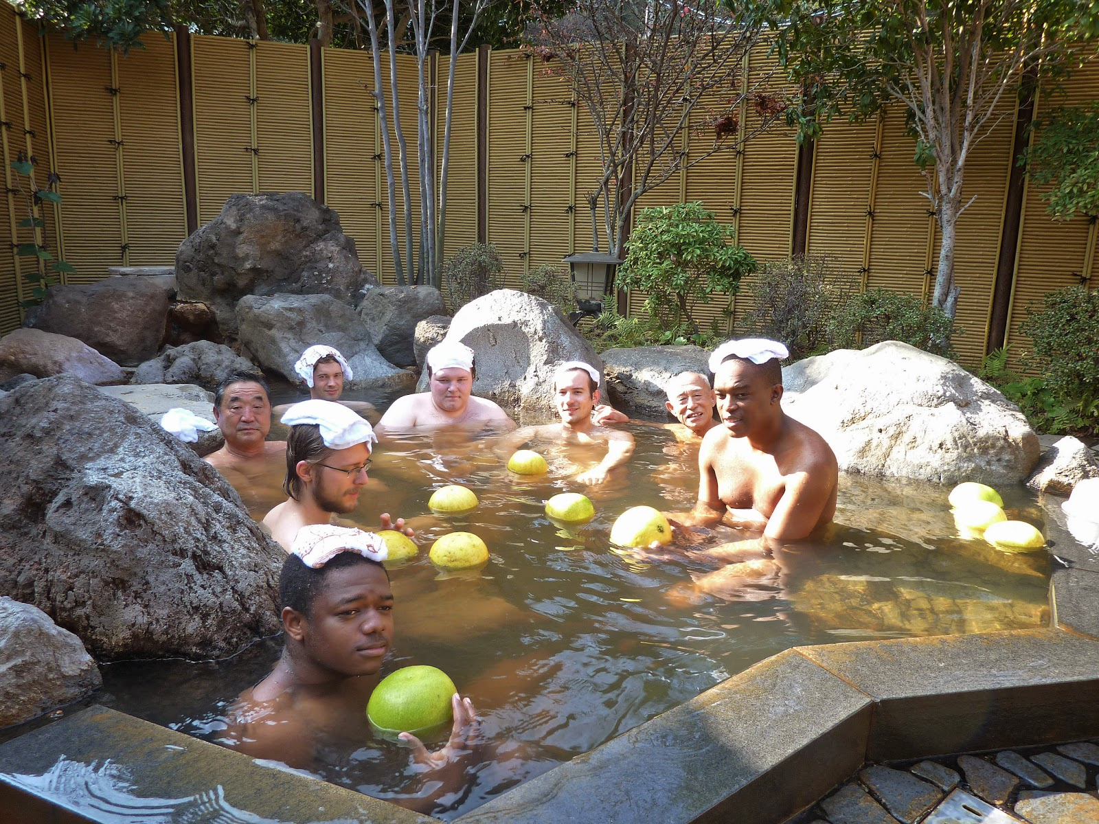 Photo of beppu hot springs kyushu japan