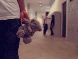 U hurt me & then U say sorry...