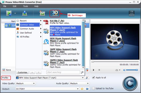 Set the output file