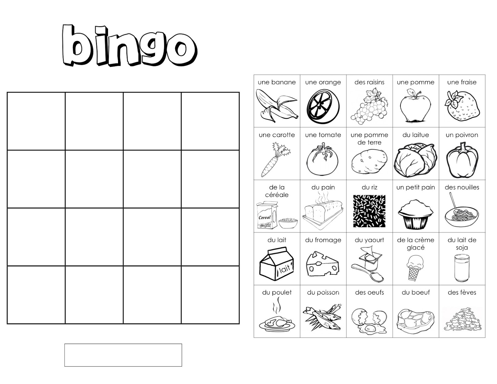 Displaying 18> Images For - Blank Bingo Card...