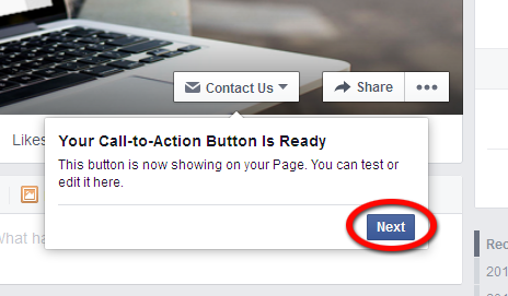 Call-to-Action Button is Ready to Use