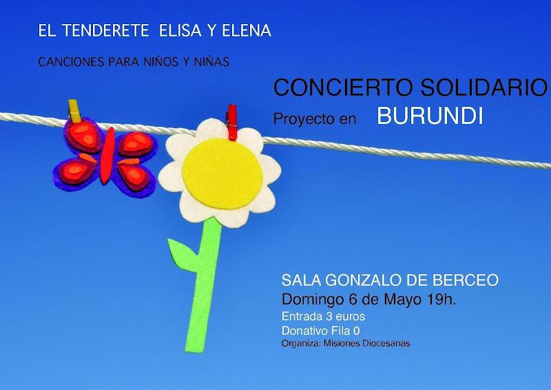 El bret n solidario concierto solidario para burundi el for Sala gonzalo de berceo