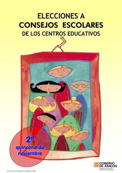 Folleto Elecciones Consejos Escolares