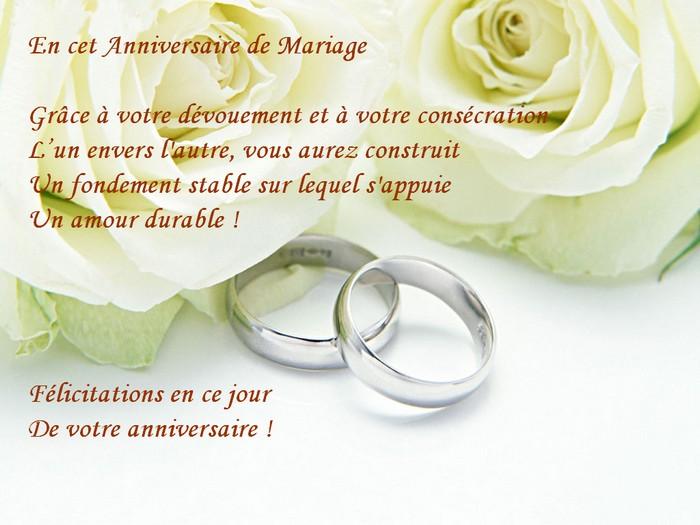beau texte sur mariage - Exemple Felicitation Mariage