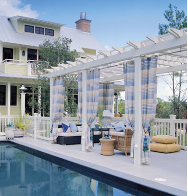 COZY outdoor OASIS WITH CABANA FEEL