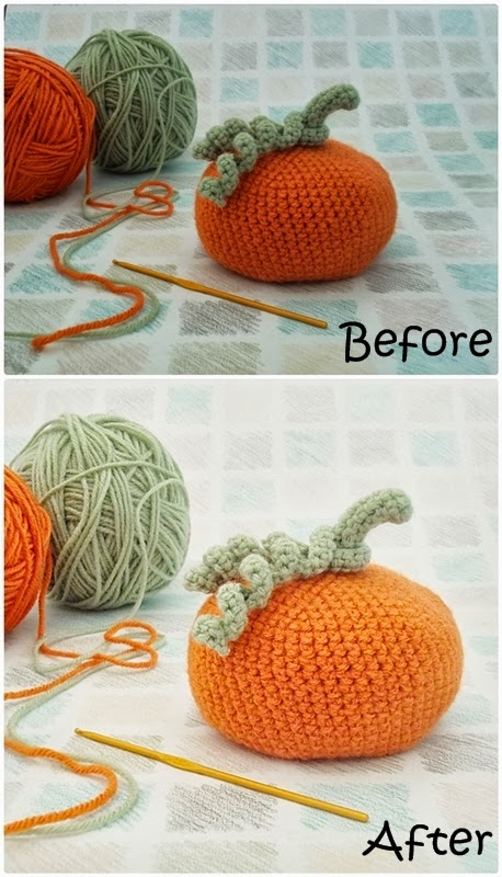 Crochet Pumpkin Pattern by The Chilly Dog