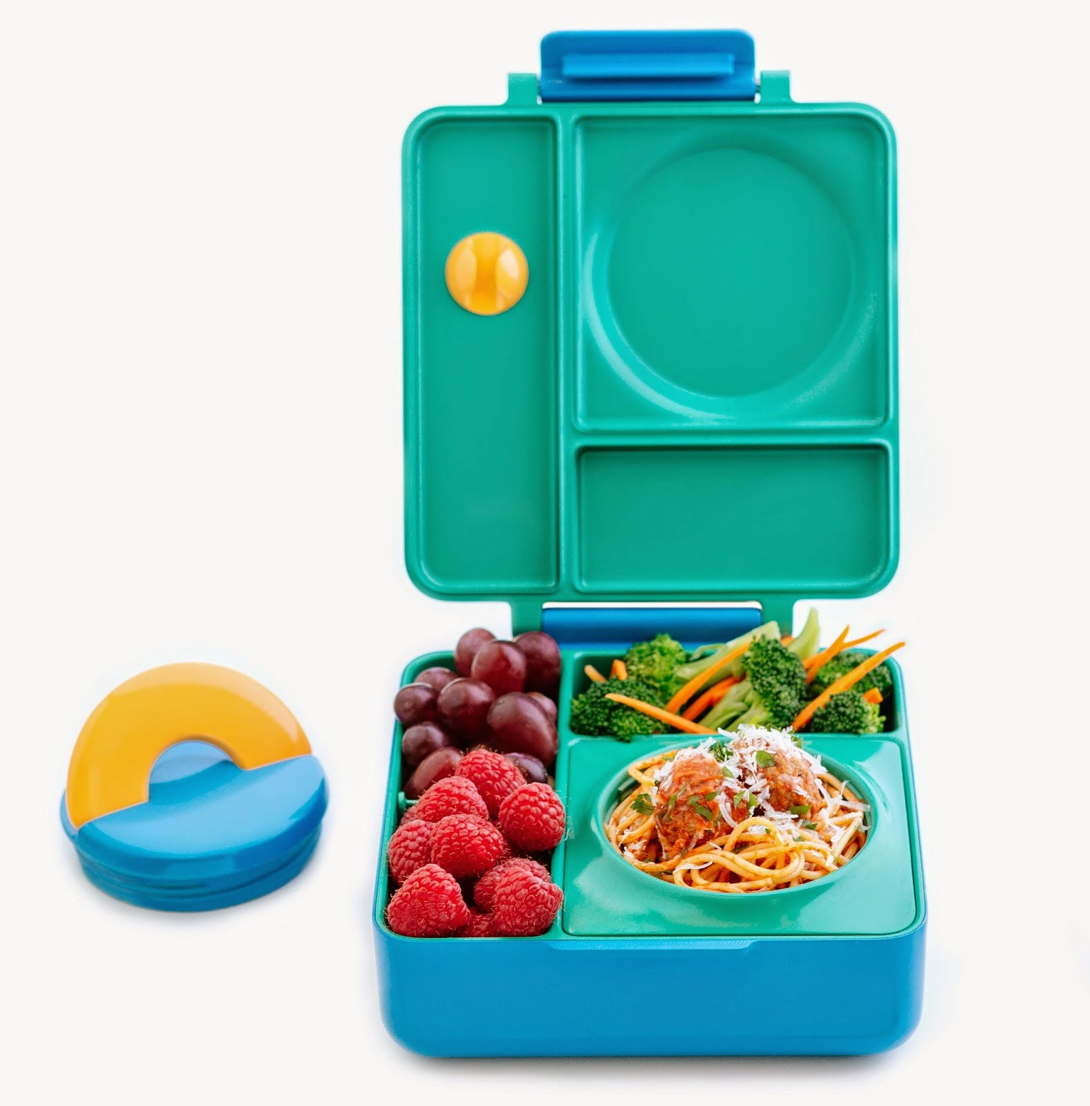 new product omiebox hot cold food in 1 lunchbox little miss bento. Black Bedroom Furniture Sets. Home Design Ideas