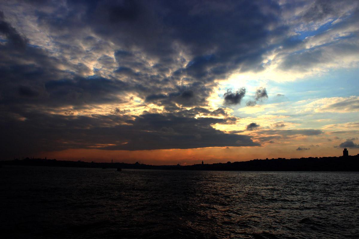 İstanbul gökyüzü