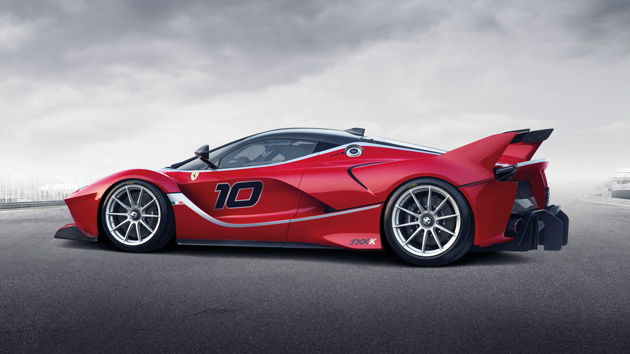 Ferrari FXX K hybrid