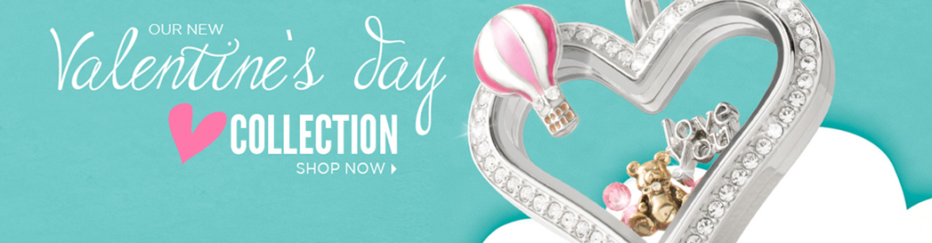 Shop Origami Owl Valentine's Day Collection Now at StoriedCharms.com