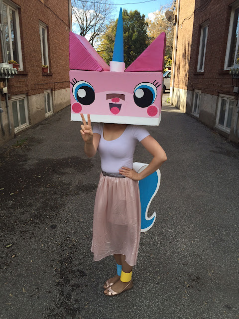 Princess Unikitty costume DIY