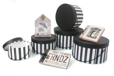 caixas redondas para organizar