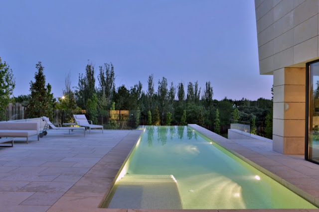 Swimming pool at The Memory House by A-Cero Architects