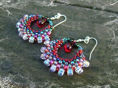 Hoola Hoop Earrings, ClearlyHelena