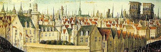 Paris medieval, época em que nasceu e floresceu a atual Universidade da Sorbonne