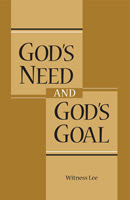 God's need