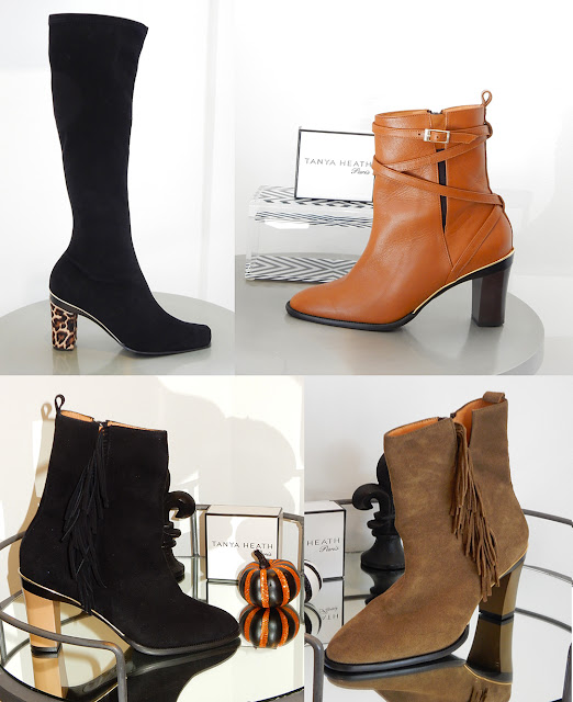 Tanya Heath Paris store on Robertson Blvd in Beverly Hills favorite ankle boots.