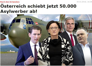 ΓΙΑ ΝΑ ΕΤΟΙΜΑΖΟΜΑΣΤΕ ΣΙΓΑ ΣΙΓΑ . Η Αυστρία θα απελάσει 50 χιλιάδες μετανάστες