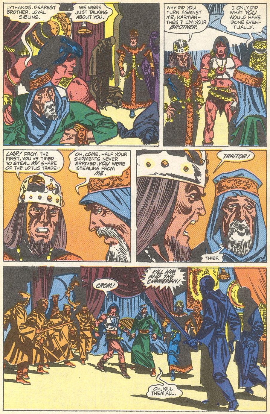 Conan the Barbarian (1970) Issue #231 #243 - English 16