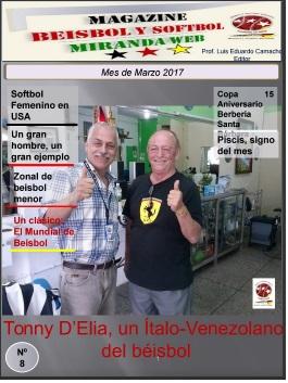 Magazine Beisbol y Softbol Miranda Marzo 2017