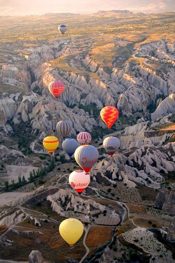 Ballon ride turkey