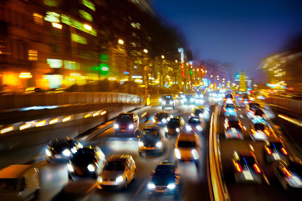 Motorists in Asia